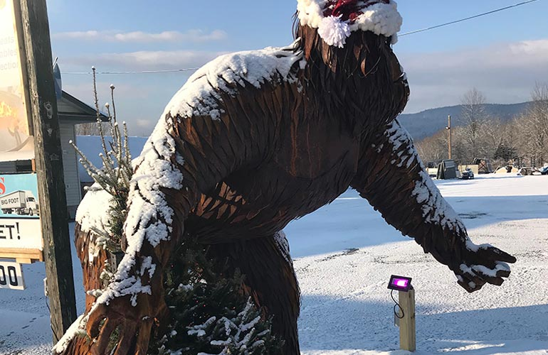 The Sasquatch Sculpture