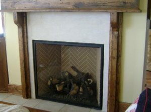 Crema Marfil Fireplace Surround Vermont Marble Granite Slate