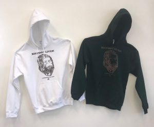 Bigfoot Apparel Available